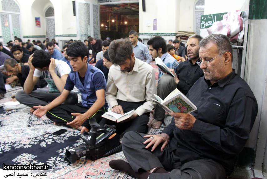 گزارش تصویری مراسم شب قدر در مسجد حضرت صاحب الزمان(عج) کوهدشت (6)