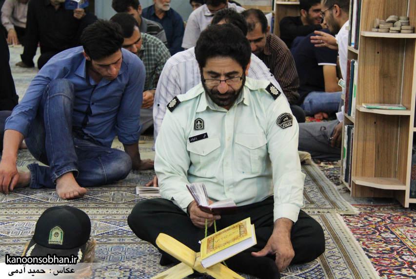 گزارش تصویری مراسم شب قدر در مسجد حضرت صاحب الزمان(عج) کوهدشت (9)
