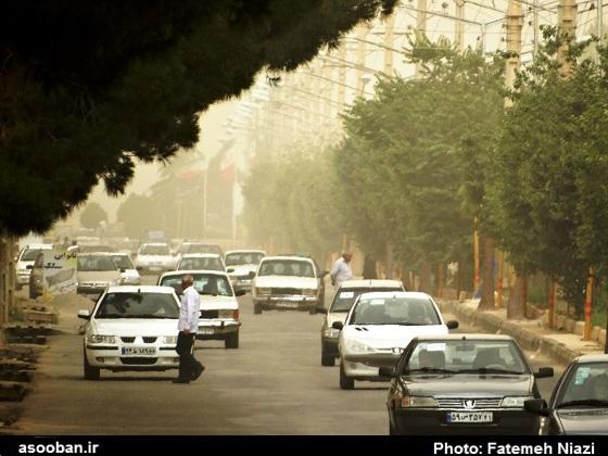 آلودگی هوا در لرستان