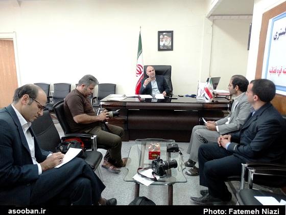 عکس، نشست خبری رئیس دادگستری کوهدشت