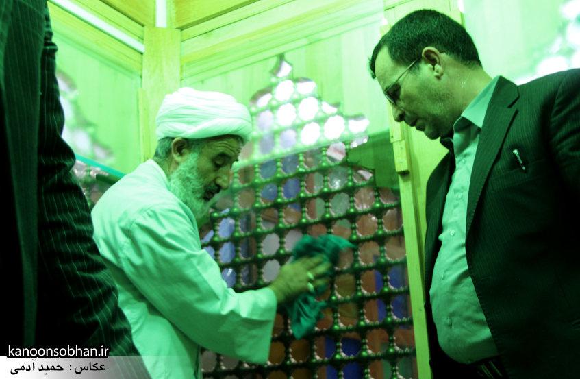 تصاویر آیین غبار روبی حرم امام زاده محمد(ع) کوهدشت (20)