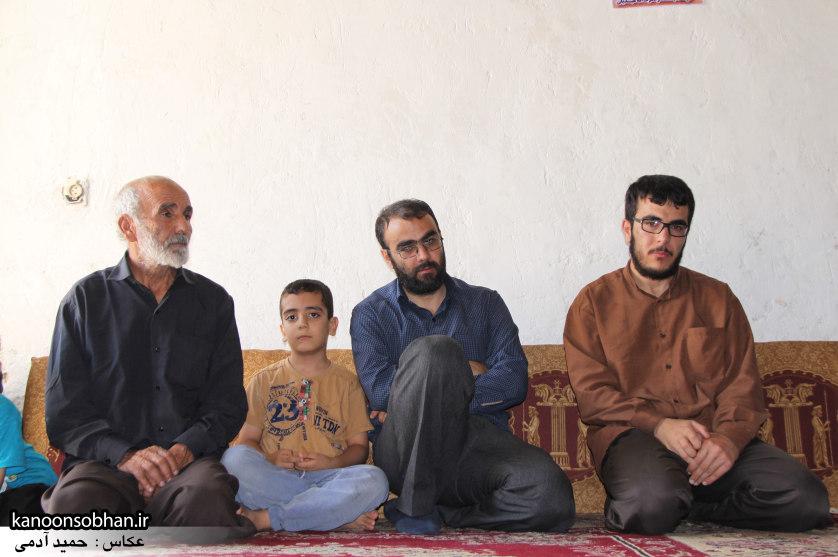 تصاویر دیدار امام جمعه ، فرماندار و مسئولین از خانواده شهید مدافع حرم کوهدشتی (6)