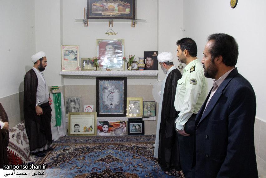 تصاویر دیدار امام جمعه ، فرماندار  و مسئولین کوهدشتی از خانواده شهید هادیان (1)