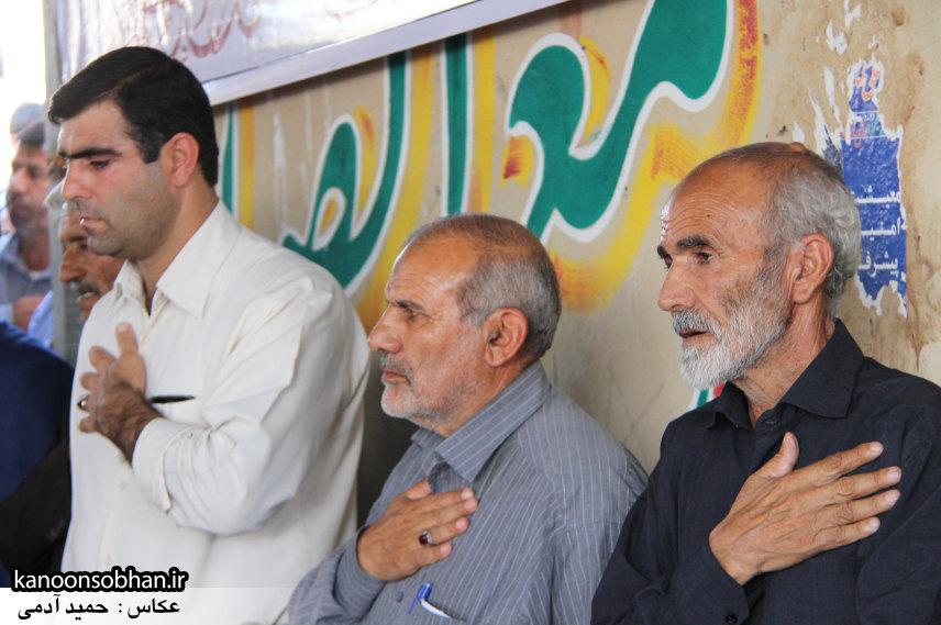 تصاویر مراسم اربعین شهید والامقام قدرت عبدیان در روستای اولاد قباد کوهدشت (17)