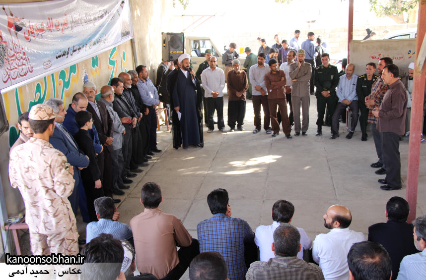 تصاویر مراسم اربعین شهید والامقام قدرت عبدیان در روستای اولاد قباد کوهدشت (33)