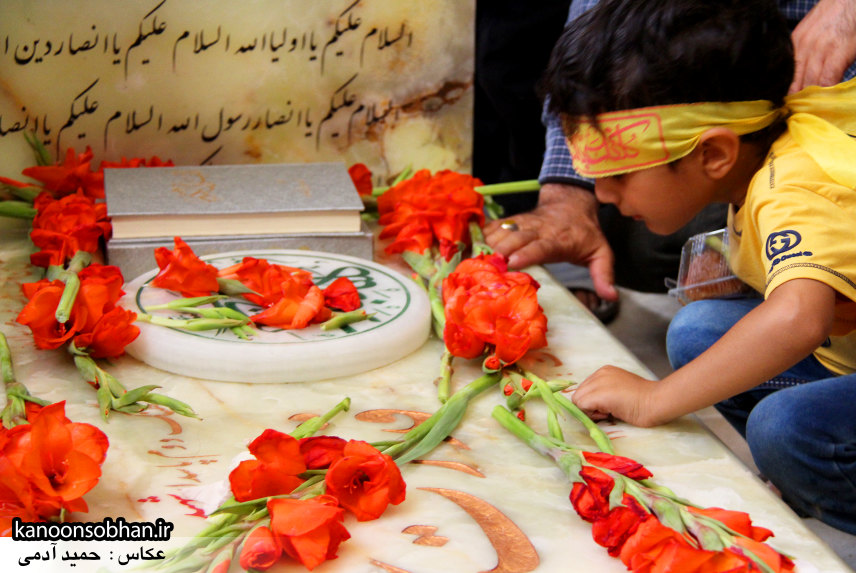 تصاویر مراسم اربعین شهید والامقام قدرت عبدیان در روستای اولاد قباد کوهدشت (48)