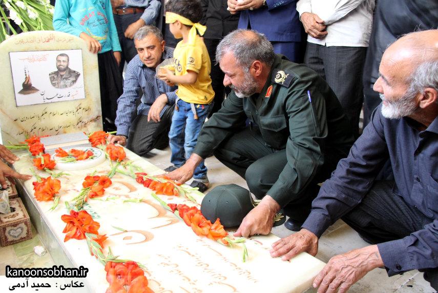 تصاویر مراسم اربعین شهید والامقام قدرت عبدیان در روستای اولاد قباد کوهدشت (49)