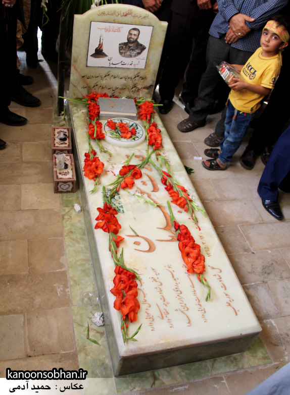 تصاویر مراسم اربعین شهید والامقام قدرت عبدیان در روستای اولاد قباد کوهدشت (52)