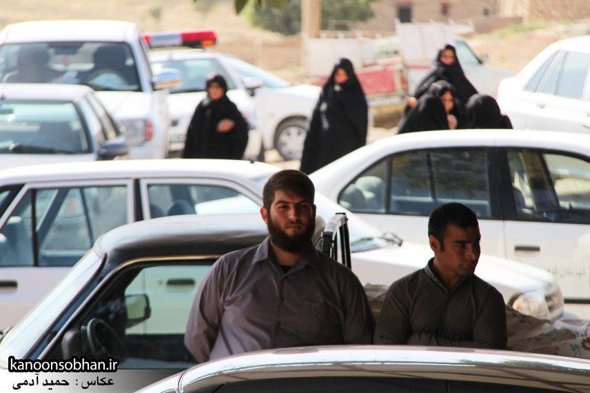 تصاویر مراسم اربعین شهید والامقام قدرت عبدیان در روستای اولاد قباد کوهدشت (9)
