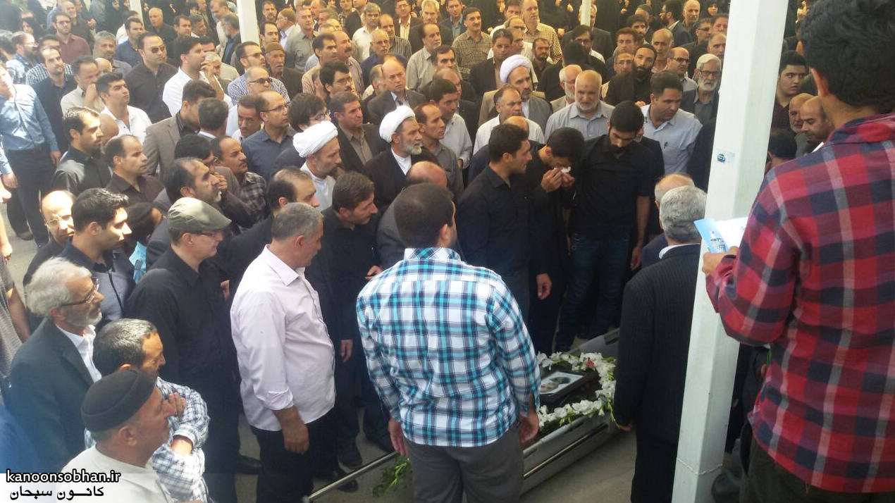تصاویر مراسم تشییع  و ختم حاج محمد علی هادیان در همدان و کوهدشت (1)
