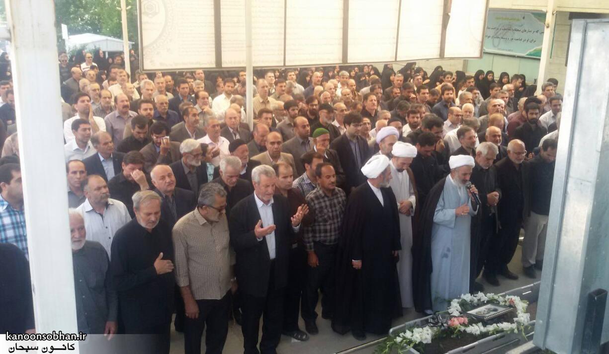 تصاویر مراسم تشییع  و ختم حاج محمد علی هادیان در همدان و کوهدشت (3)