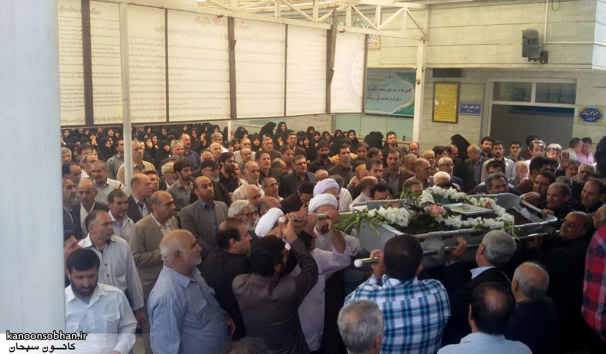 تصاویر مراسم تشییع  و ختم حاج محمد علی هادیان در همدان و کوهدشت (5)