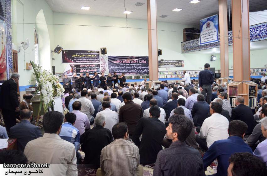 تصاویر مراسم تشییع  و ختم حاج محمد علی هادیان در همدان و کوهدشت (7)