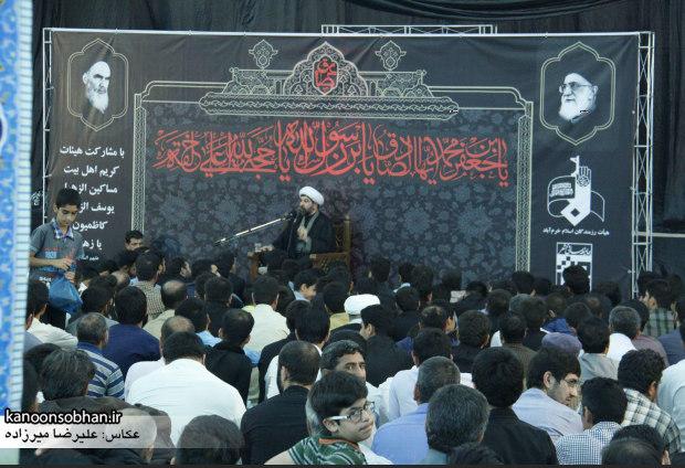 تصاویر مراسم شهادت امام جعفر صادق(ع) در خرم آباد  (5)