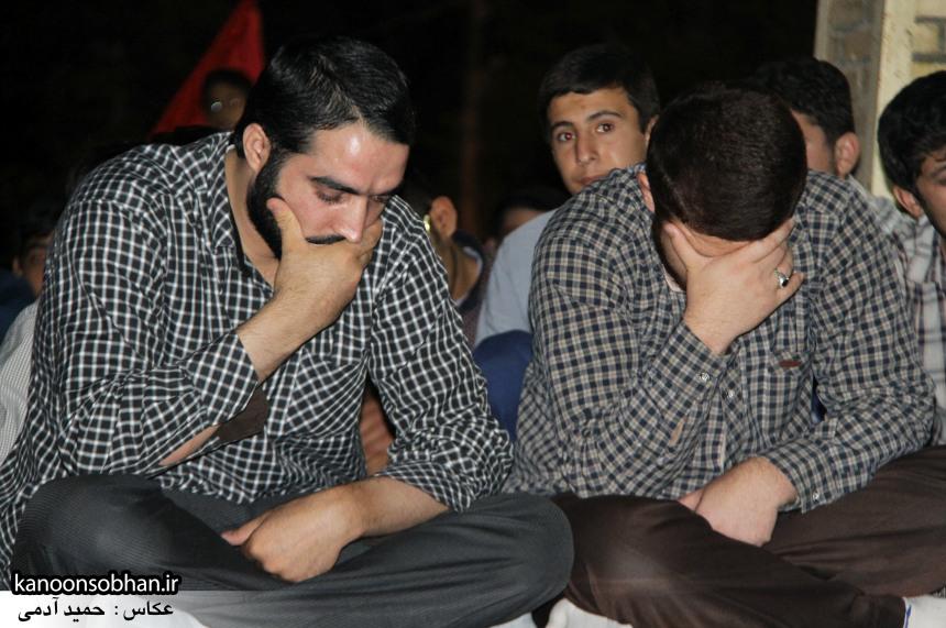 تصاویر مراسم هفتگی هیئت انصار الحسین(ع) در جوار شهدای گمانم کوهدشت (12)