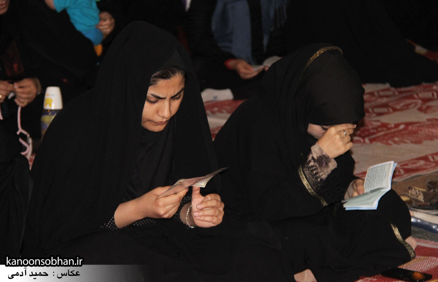 تصاویر مراسم هفتگی هیئت انصار الحسین(ع) در جوار شهدای گمانم کوهدشت (13)