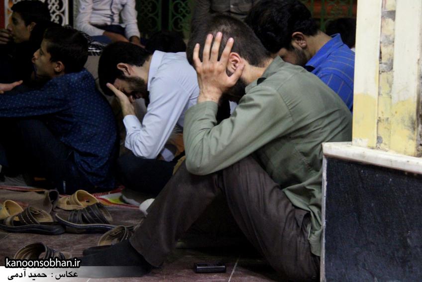 تصاویر مراسم هفتگی هیئت انصار الحسین(ع) در جوار شهدای گمانم کوهدشت (14)