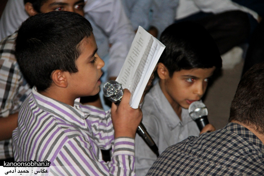 تصاویر مراسم هفتگی هیئت انصار الحسین(ع) در جوار شهدای گمانم کوهدشت (15)
