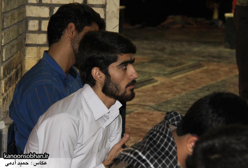تصاویر مراسم هفتگی هیئت انصار الحسین(ع) در جوار شهدای گمانم کوهدشت (17)