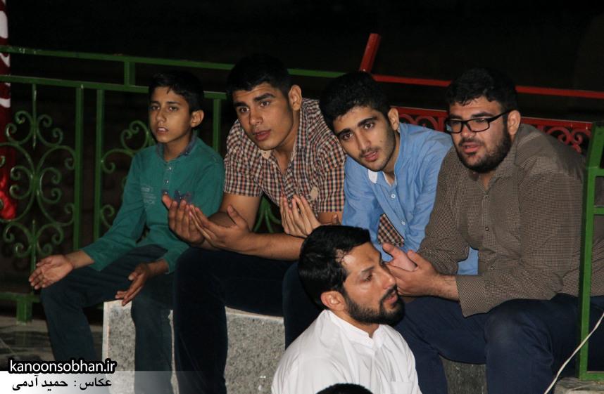 تصاویر مراسم هفتگی هیئت انصار الحسین(ع) در جوار شهدای گمانم کوهدشت (19)