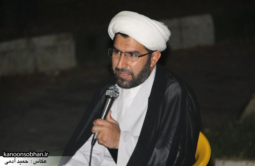 تصاویر مراسم هفتگی هیئت انصار الحسین(ع) در جوار شهدای گمانم کوهدشت (2)