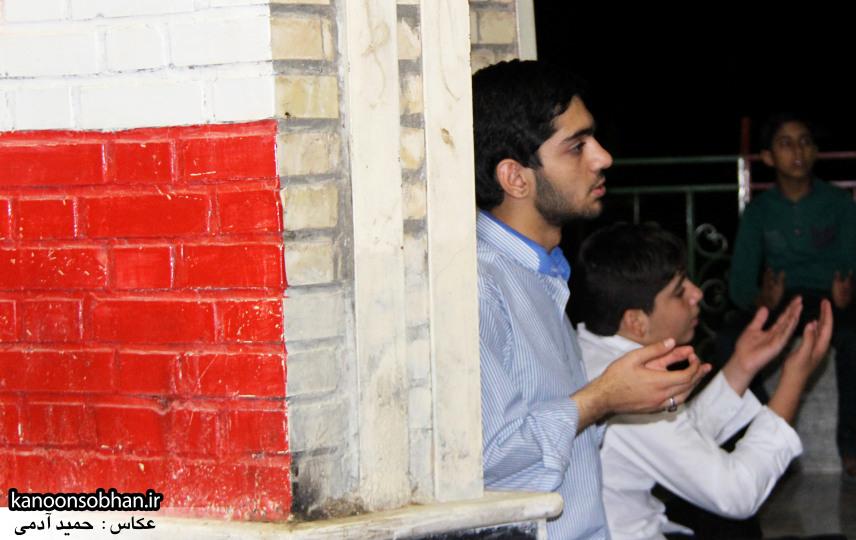تصاویر مراسم هفتگی هیئت انصار الحسین(ع) در جوار شهدای گمانم کوهدشت (20)