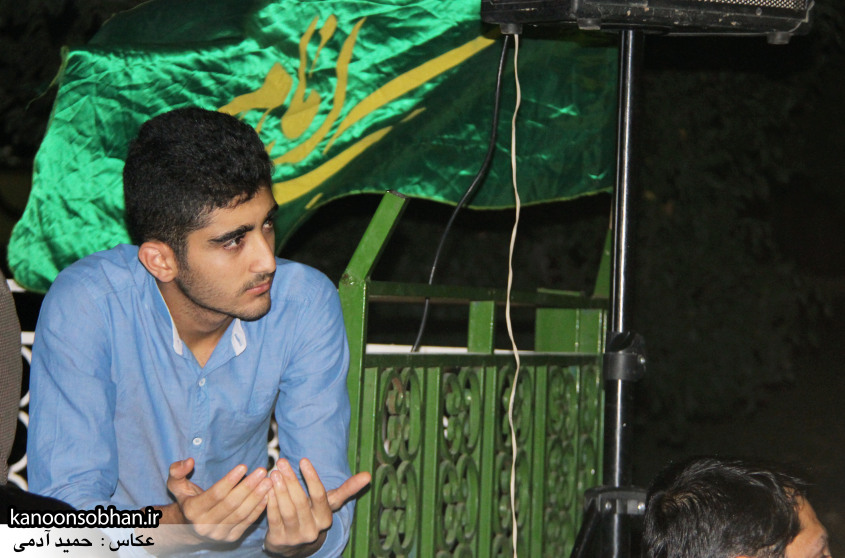 تصاویر مراسم هفتگی هیئت انصار الحسین(ع) در جوار شهدای گمانم کوهدشت (4)