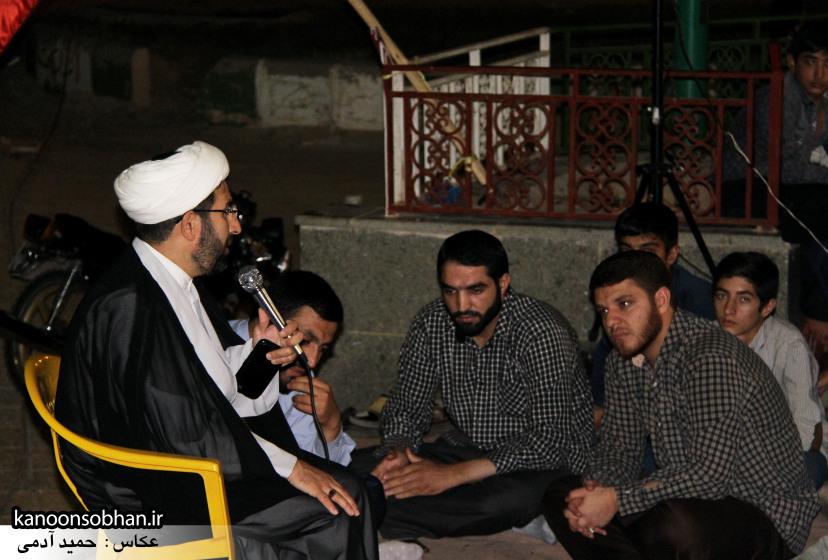 تصاویر مراسم هفتگی هیئت انصار الحسین(ع) در جوار شهدای گمانم کوهدشت (5)