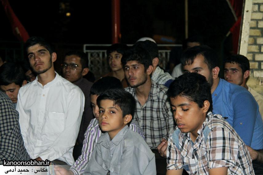 تصاویر مراسم هفتگی هیئت انصار الحسین(ع) در جوار شهدای گمانم کوهدشت (6)