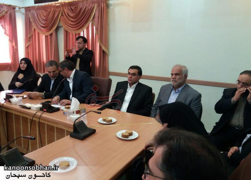 تصاویر معارفه علی کورانی فر به عنوان فرماندار جدید بروجرد (2)