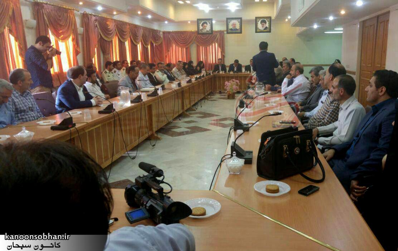 تصاویر معارفه علی کورانی فر به عنوان فرماندار جدید بروجرد (3)
