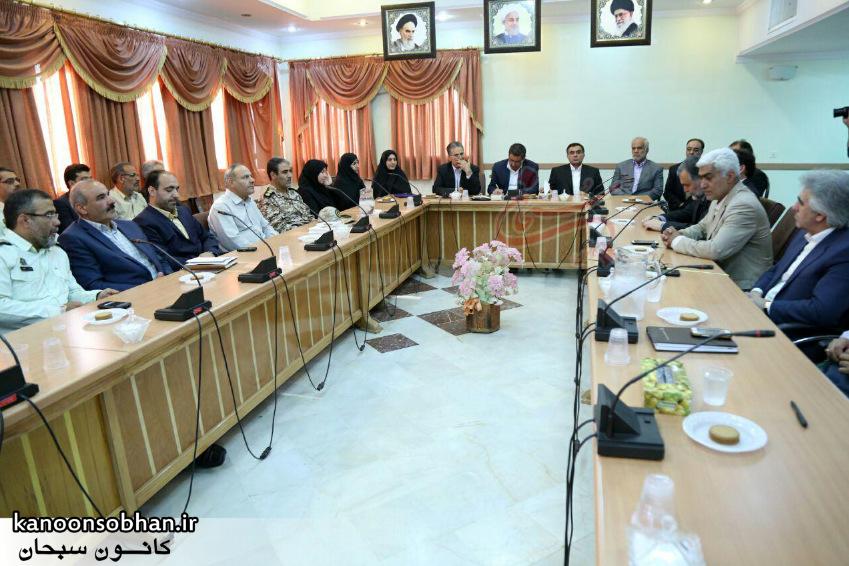 تصاویر معارفه علی کورانی فر به عنوان فرماندار جدید بروجرد (4)