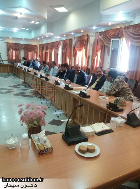 تصاویر معارفه علی کورانی فر به عنوان فرماندار جدید بروجرد (6)