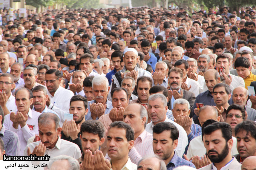 تصاویر نماز عید فطر 95 کوهدشت لرستان (2)