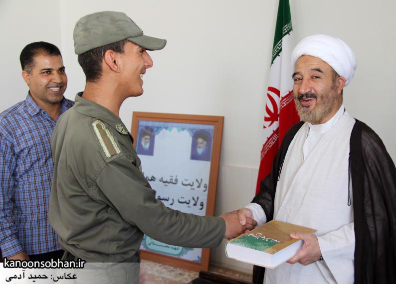 دیدار سرباز سنی تازه تشرف شده به مذهب تشیع با امام جمعه کوهدشت (1)