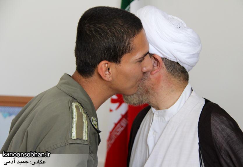 دیدار سرباز سنی تازه تشرف شده به مذهب تشیع با امام جمعه کوهدشت (2)