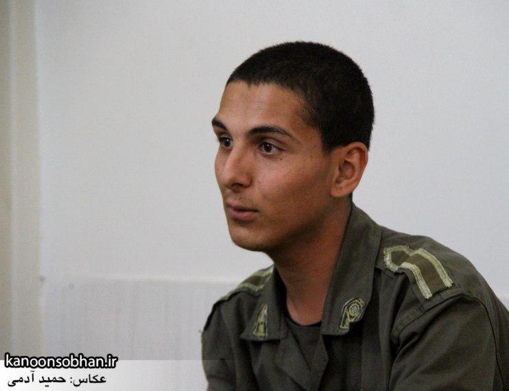 دیدار سرباز سنی تازه تشرف شده به مذهب تشیع با امام جمعه کوهدشت