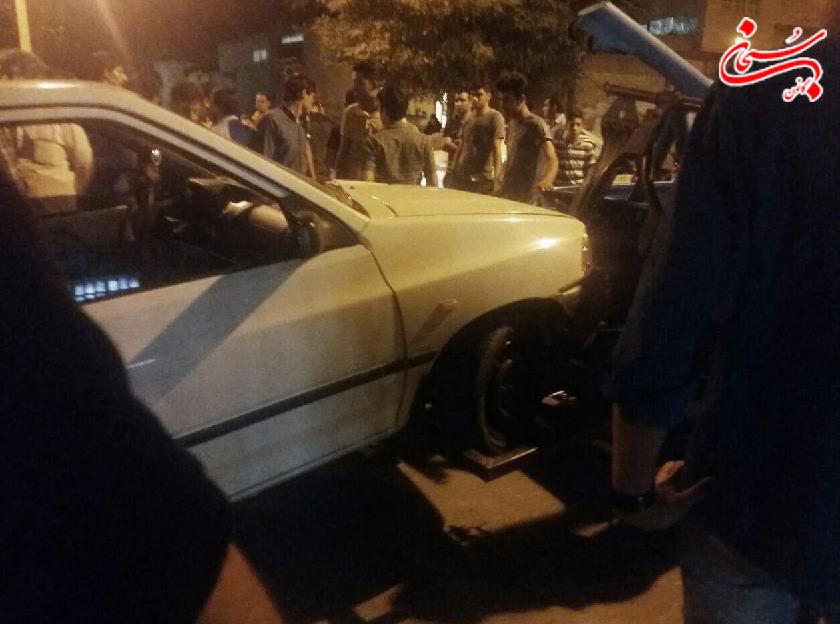 تصادف مرگبار در خیابان دکتر حسابی کوهدشت +تصاویر و جزئیات (1)