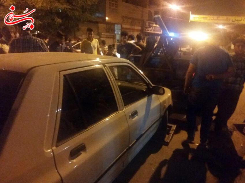 تصادف مرگبار در خیابان دکتر حسابی کوهدشت +تصاویر و جزئیات (2)