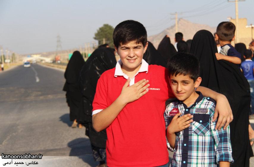 تصاویر استقبال از کاروان خدام و پرچم حرم امام رضا(ع) در کوهدشت (1)