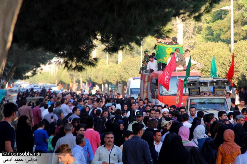 تصاویر استقبال از کاروان خدام و پرچم حرم امام رضا(ع) در کوهدشت (20)