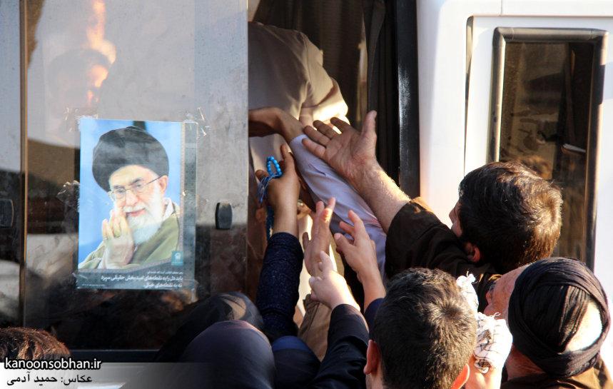 تصاویر استقبال از کاروان خدام و پرچم حرم امام رضا(ع) در کوهدشت (23)