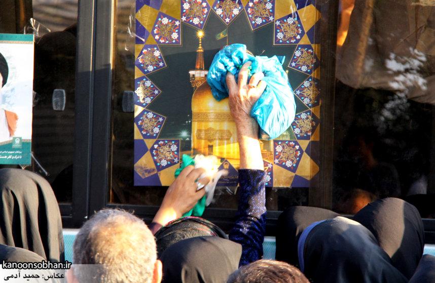 تصاویر استقبال از کاروان خدام و پرچم حرم امام رضا(ع) در کوهدشت (24)
