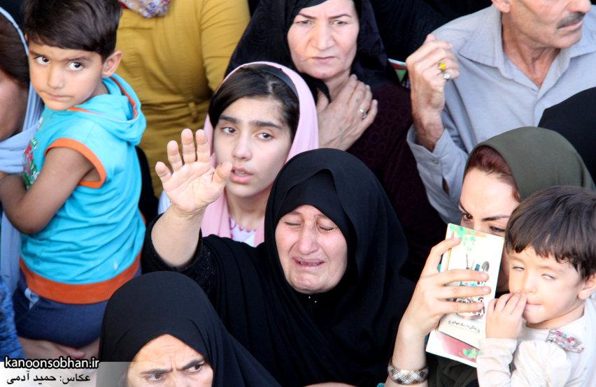 تصاویر استقبال از کاروان خدام و پرچم حرم امام رضا(ع) در کوهدشت (34)