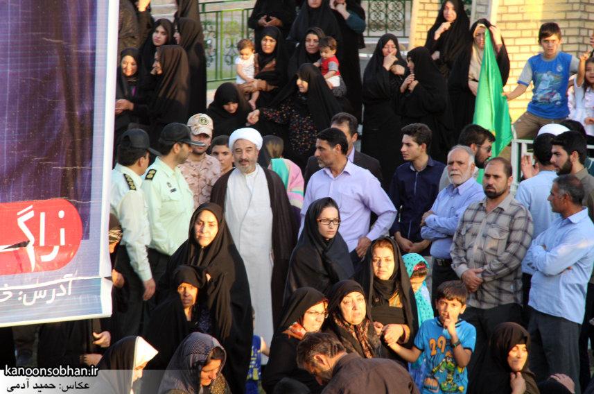 تصاویر استقبال از کاروان خدام و پرچم حرم امام رضا(ع) در کوهدشت (36)