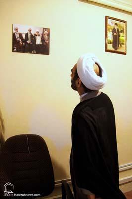 تصاویر بازدید آیت الله احمد مبلغی از سامانه خبری حوزه (11)
