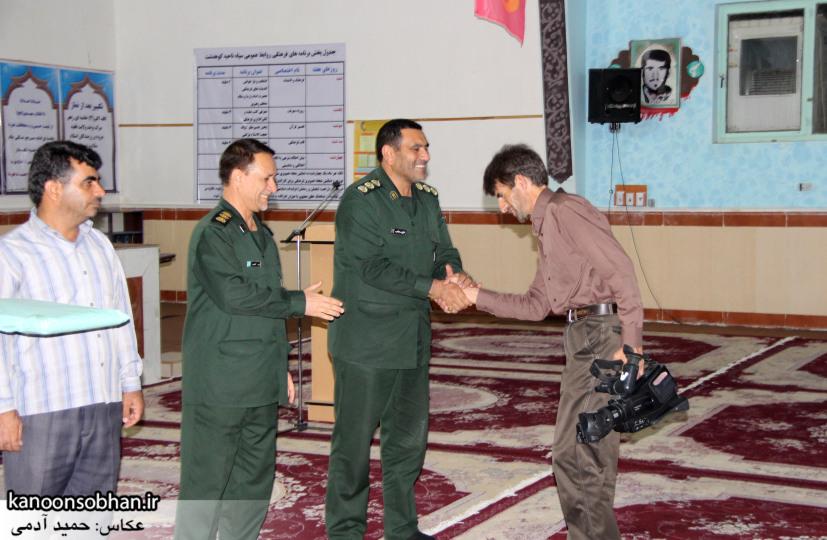 تصاویر تجلیل سپاه ناحیه کوهدشت از خبرنگاران (7)
