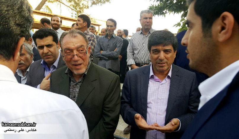 تصاویر مراسم خاکسپاری والده محترمه حاج علی اصغر اسفندیاری در کوهدشت (2)
