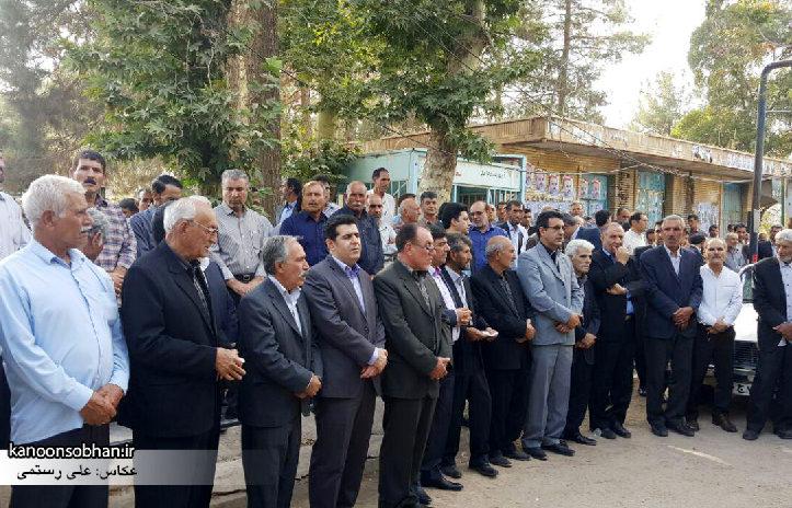 تصاویر مراسم خاکسپاری والده محترمه حاج علی اصغر اسفندیاری در کوهدشت (3)