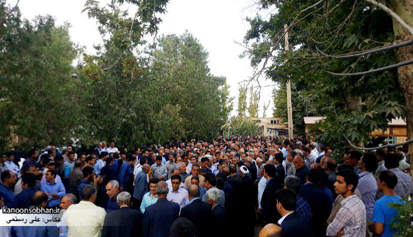 تصاویر مراسم خاکسپاری والده محترمه حاج علی اصغر اسفندیاری در کوهدشت (5)